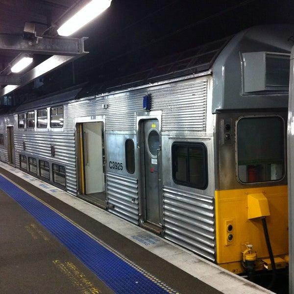 Photo taken at Bankstown Station by Mick M. on 9/26/2013