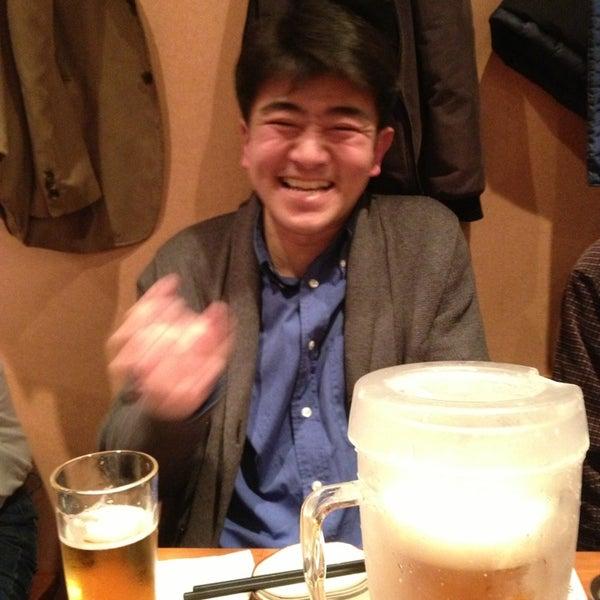 Photo taken at 赤坂ちびすけ 新宿店 by Yasumasa M. on 3/30/2013