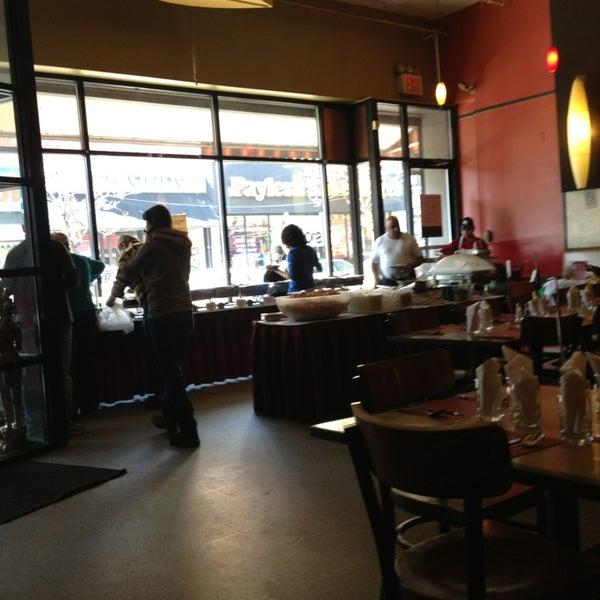 Photo taken at Jackson Diner by Julius Erwin Q. on 2/2/2013