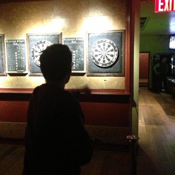Photo taken at Bleecker Street Bar by Eric E. on 1/23/2013
