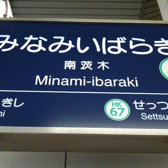 Photo taken at 阪急 南茨木駅 (Minami-ibaraki Sta.) (HK-68) by matsmee on 5/19/2015