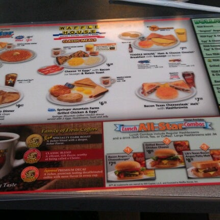 Photo taken at Waffle House by Rob A. on 12/7/2012