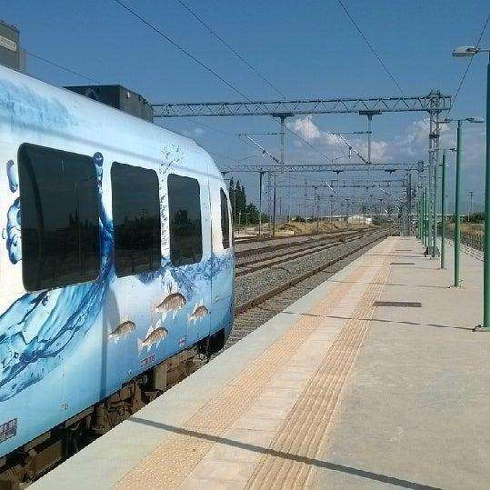 Photo taken at Σταθμός Προαστιακού Κιάτο (Kiato Suburban Rail Station) by Thanos P. on 8/5/2014