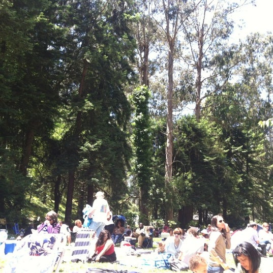 Photo taken at Sigmund Stern Grove by Sepideh N. on 6/24/2012