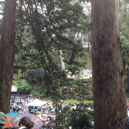 Photo taken at Sigmund Stern Grove by Ola A. on 8/5/2012