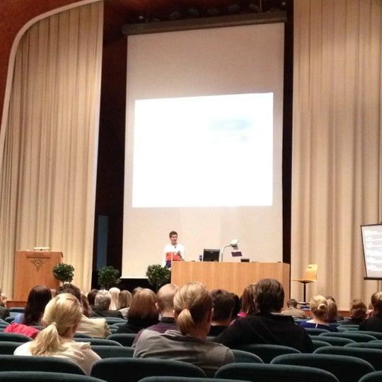 Photo taken at Kauppakorkeakoulu by Sanna A. on 4/19/2012