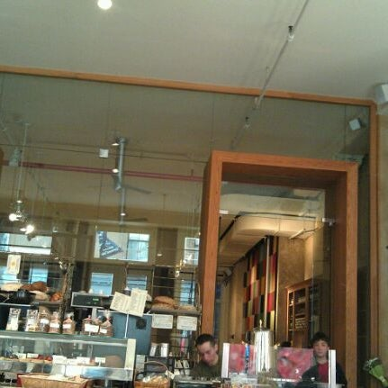 Photo taken at Le Pain Quotidien by Don K. on 4/27/2012