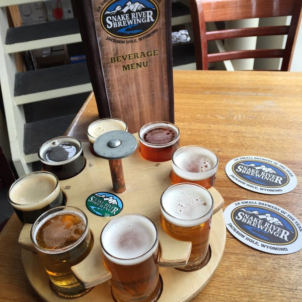 Photo taken at Snake River Brewery & Restaurant by Paul H. on 4/4/2015