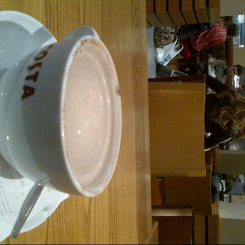 Photo taken at Costa Coffee by Anna G. on 10/5/2012