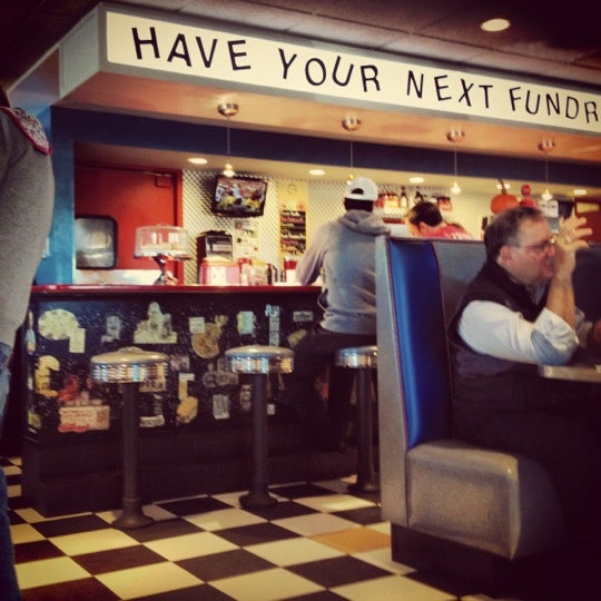 Photo taken at Roundabout Diner & Lounge by Heidi N. on 10/21/2012