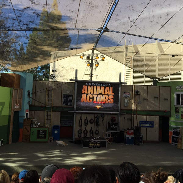 Photo taken at Universal's Animal Actors by Aska on 9/26/2015
