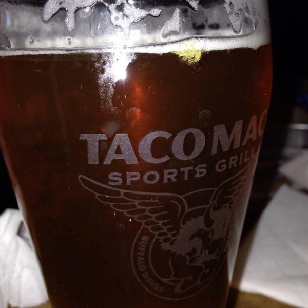Photo taken at Taco Mac Sports Grill by Roger O. on 11/29/2013
