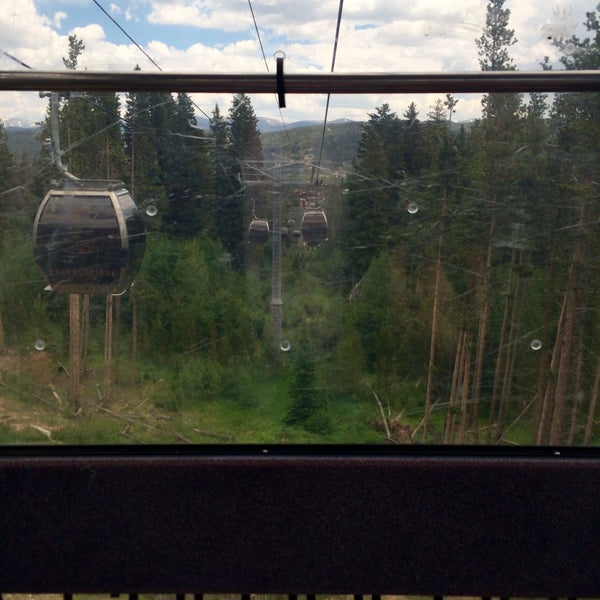 Photo taken at Breck Connect Gondola by Mighty Q on 6/24/2016