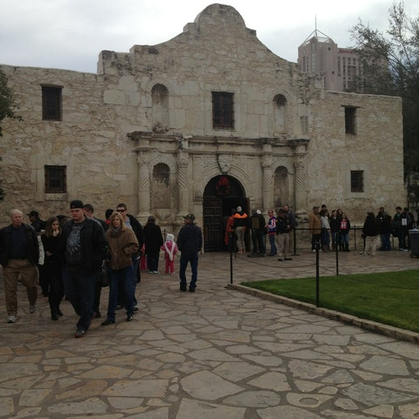 Photo taken at The Alamo by Nathan L. on 12/29/2012