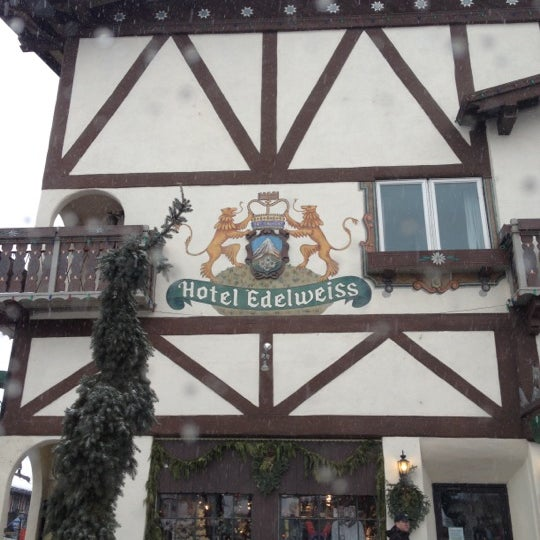 Photo taken at Town of Leavenworth by Aliesha on 1/5/2013