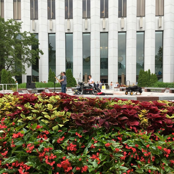 Photo taken at Aon Center by Kelsey O. on 7/21/2016