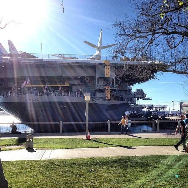 Photo taken at USS Midway Museum by Heather F. on 3/9/2014