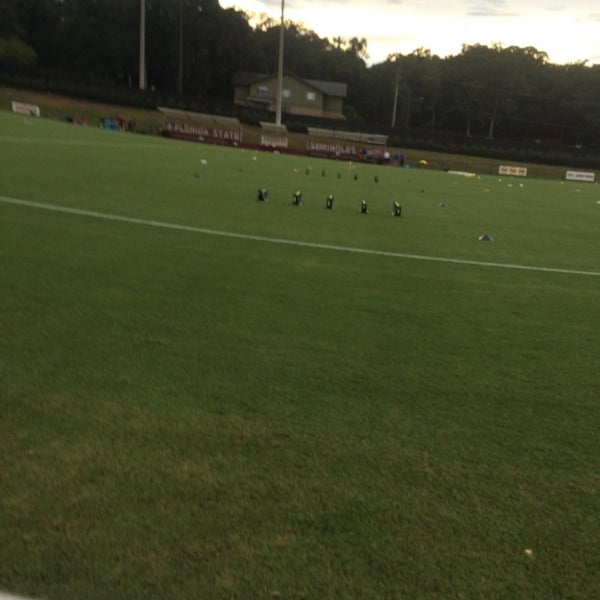 Photo taken at The Seminole Soccer Complex by Rob P. on 9/5/2014