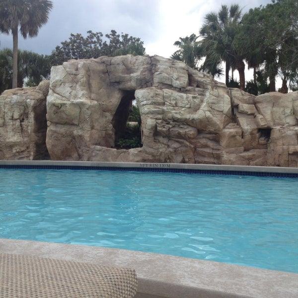 Photo taken at Marriott World Center Pool by Lynn N. on 5/12/2013