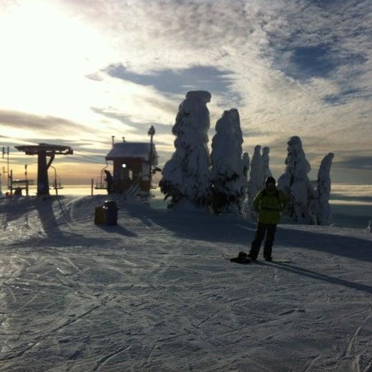 Photo taken at Cypress Mountain Ski Area by Eva V. on 1/13/2013
