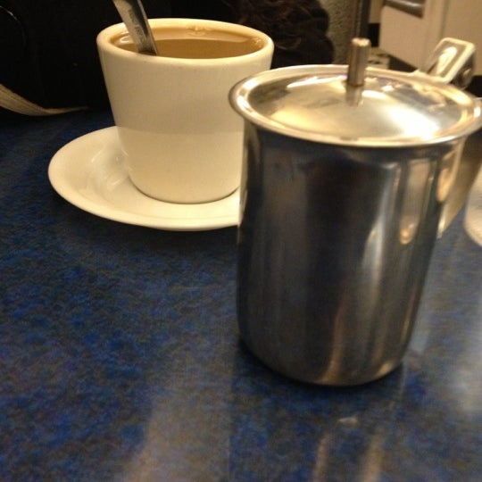Photo taken at Skylight Diner by Patrick S. on 12/6/2012