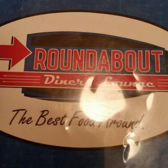 Photo taken at Roundabout Diner & Lounge by Jim L. on 2/6/2016