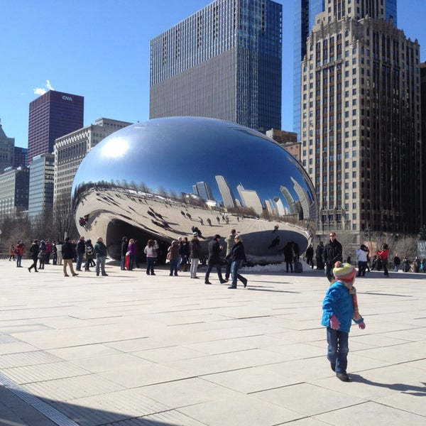 Photo taken at Cloud Gate by Todor T. on 3/3/2013