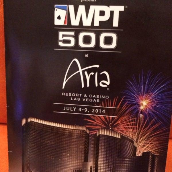 Photo taken at Aria Poker Room by Jaimarie G. on 7/8/2014