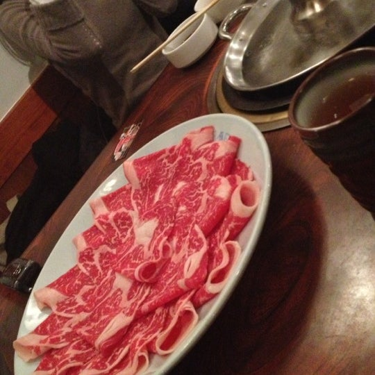Photo taken at Shabu-Tatsu by Nancerella on 12/12/2012