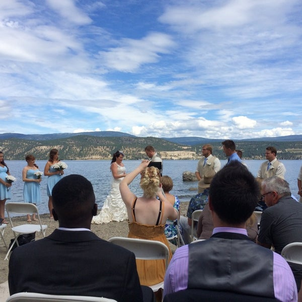 Photo taken at Lake Okanagan Resort Kelowna by Kc N. on 7/6/2014