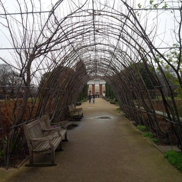 Photo taken at Kensington Gardens by DTourist F. on 1/12/2014