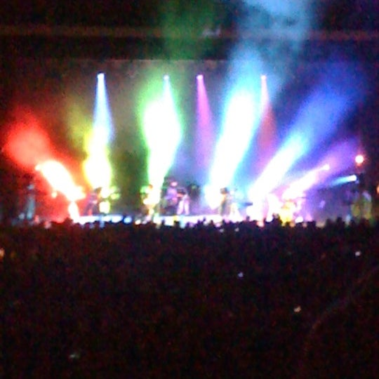 Photo taken at The Greek Theatre by Christine M. on 10/11/2012