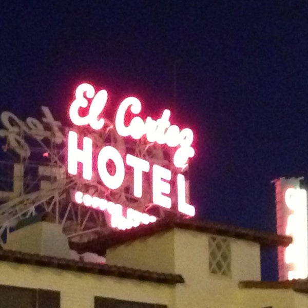 Photo taken at El Cortez Hotel & Casino by Darcie L. on 3/13/2013