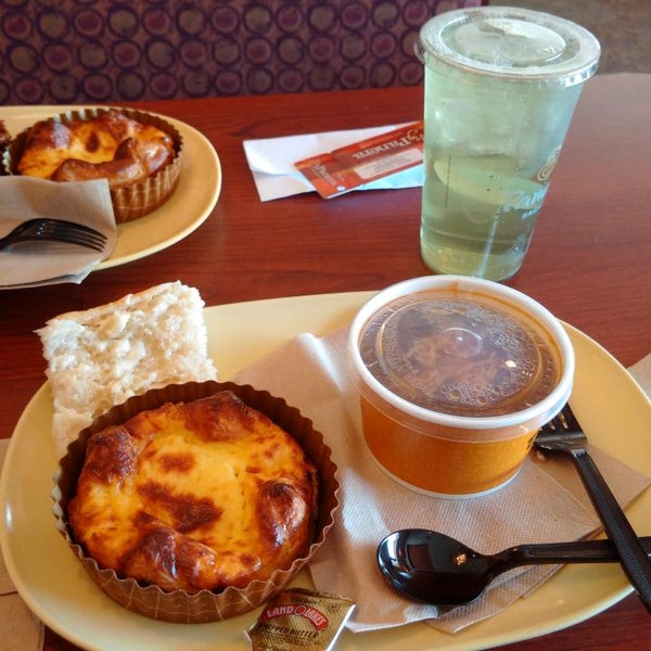 Photo taken at Panera Bread by Ian T. on 4/23/2015