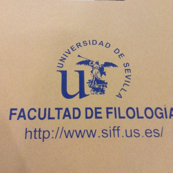 Photo taken at Facultad de Filología by Marjolein B. on 9/22/2015