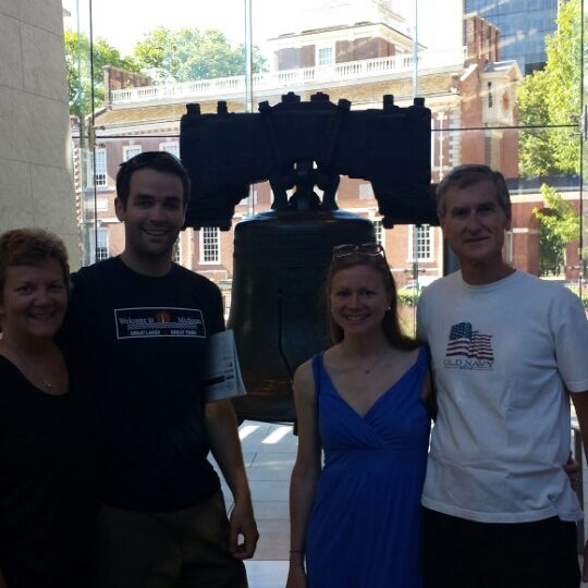 Photo taken at Liberty Bell Center by Sean S. on 7/5/2014