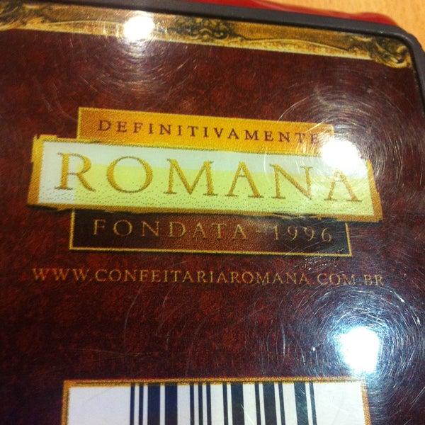 Photo taken at Confeitaria Romana by Rodrigo S. on 4/29/2013