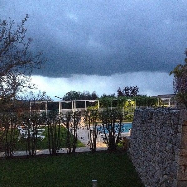 Photo taken at Abate Masseria & Resort Noci by Alex on 4/16/2014