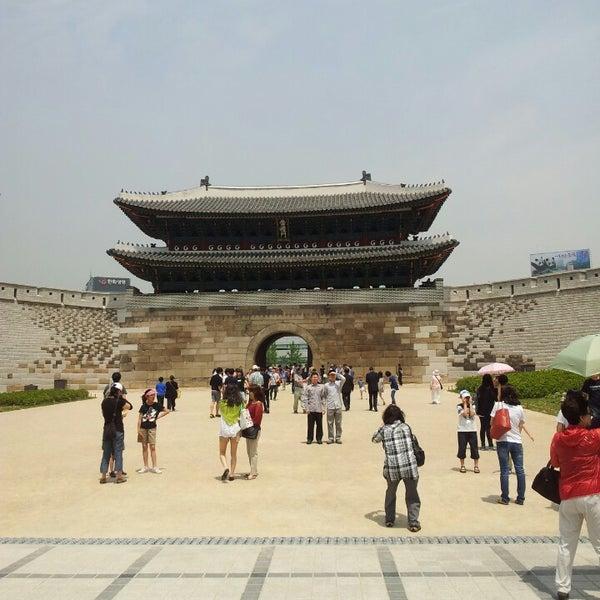 Photo taken at Sungnyemun by po8orsky on 5/25/2013