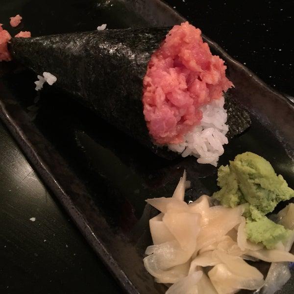 Photo taken at Blu Sushi by Brien S. on 1/10/2015