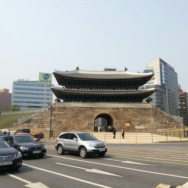 Photo taken at Sungnyemun by Joe on 5/7/2013