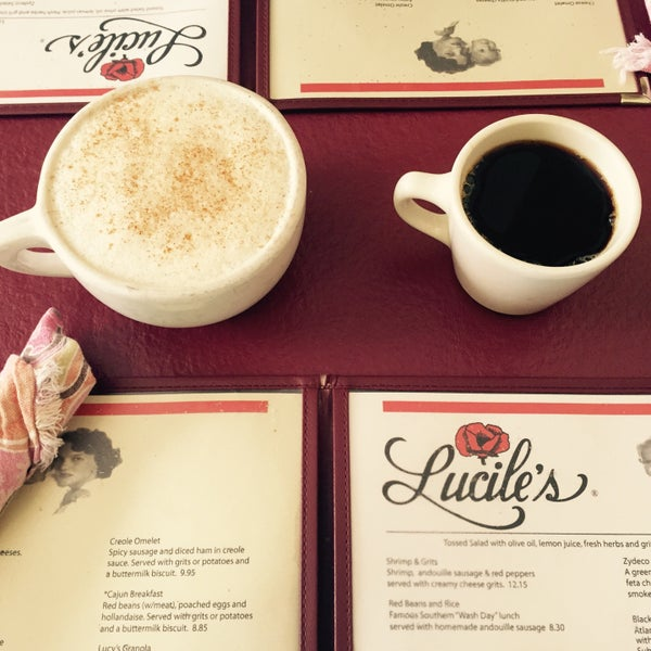 Photo taken at Lucile's by Kelly & Jose on 10/9/2015