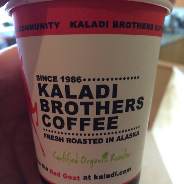 Photo taken at Kaladi Brothers Coffee by Gary M. on 7/28/2014