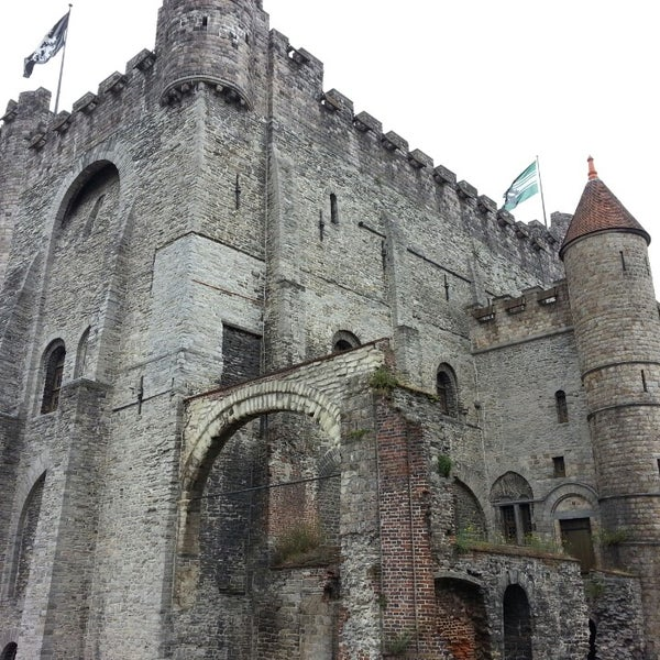Photo taken at Gravensteen / Castle of the Counts by TravelThirst /. on 7/20/2013