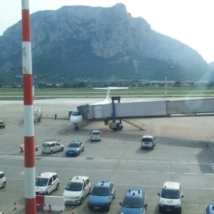 Photo taken at Palermo Airport (PMO) by Boris P. on 11/13/2012