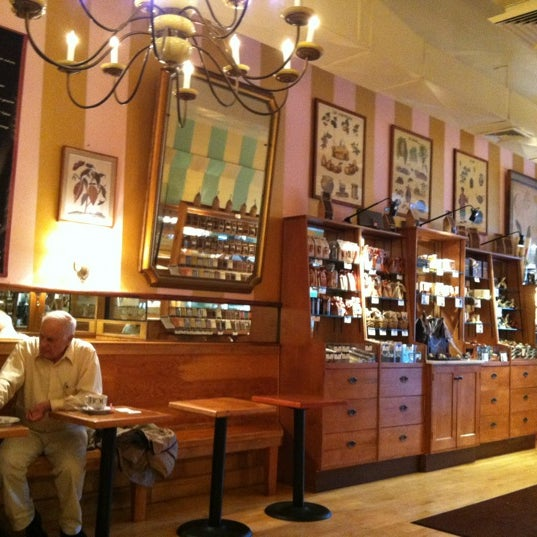 Photo taken at L.A. Burdick Chocolate by Shannon L. on 10/3/2012