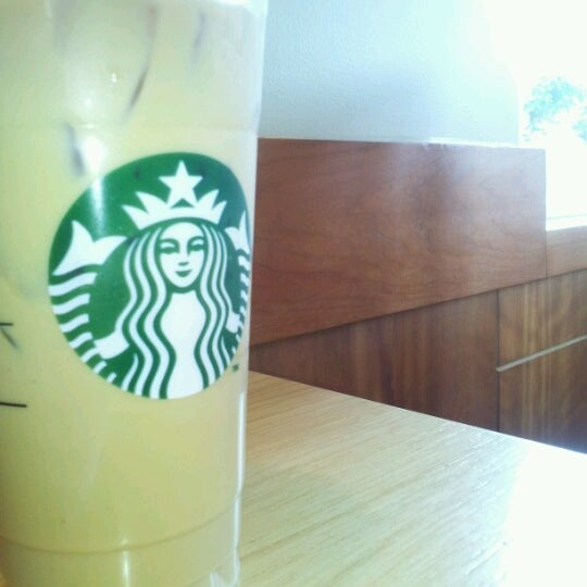 Photo taken at Starbucks by Megan P. on 8/16/2012