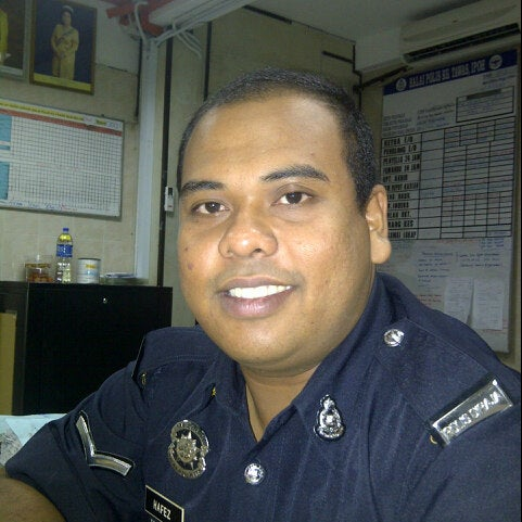 Photo taken at Balai Polis Kg Tawas by Hafez M. on 9/1/2012