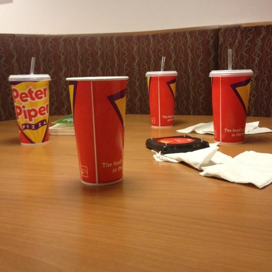 Photo taken at Peter Piper Pizza by Brian B. on 2/18/2012