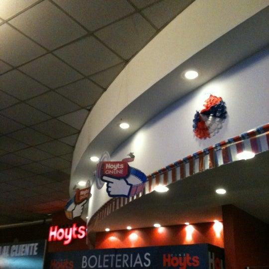 Photo taken at Cine Hoyts by Alvaro on 9/9/2012